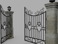 Gate and fences 42