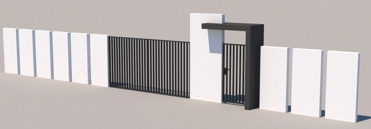 Gate and fences 6