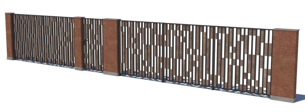 Gate and fences 24