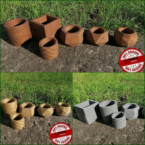 Epoxy resin mini pots