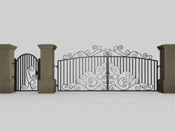 Gate and fences 43