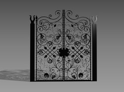 Gate and fences 46