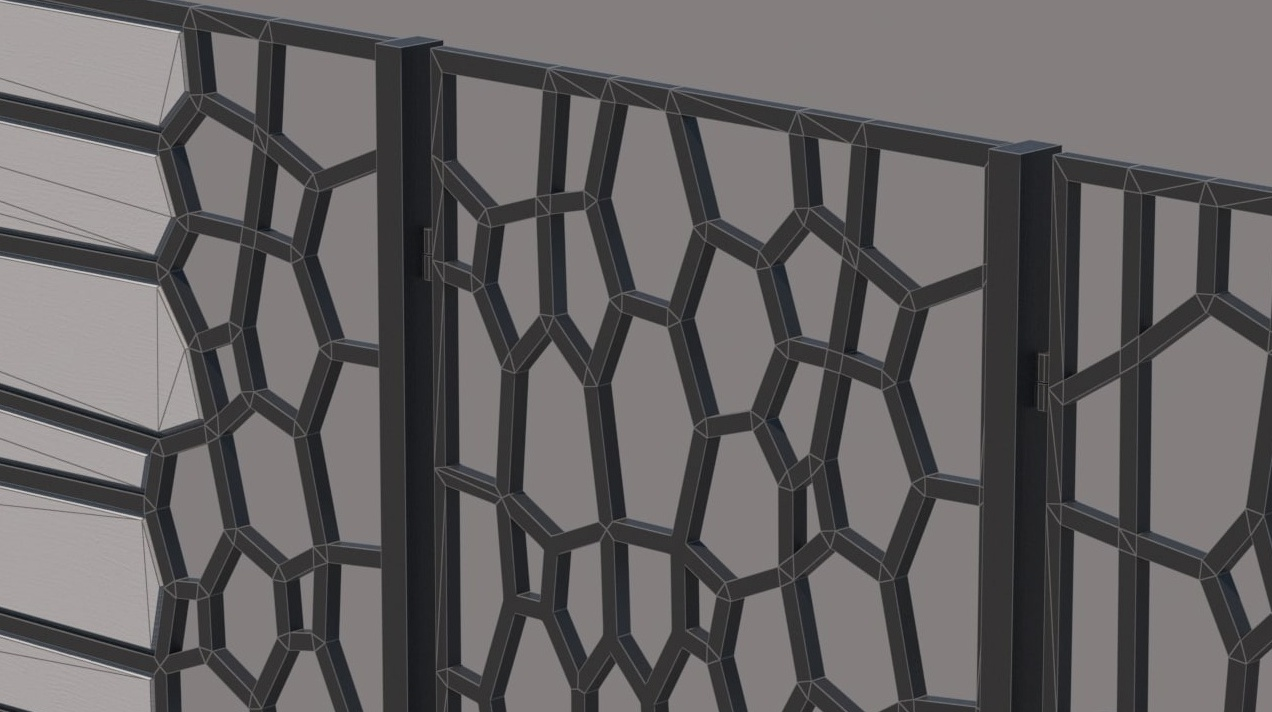 Gate and fences 37