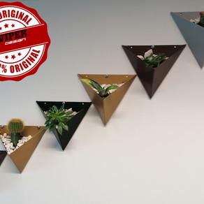 Triangle mini pots
