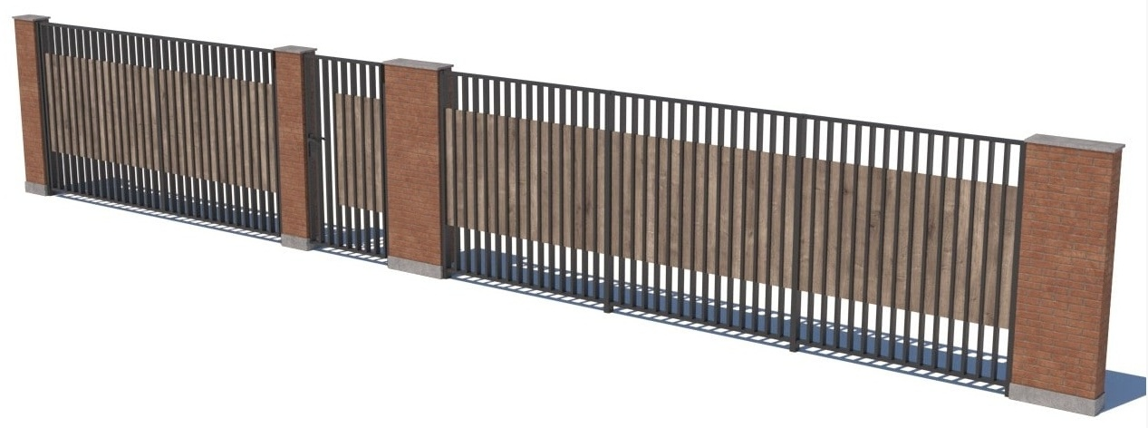 Gate and fences 2