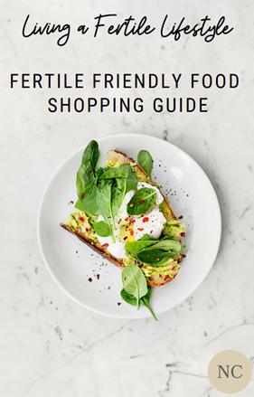 Top 5 Fertile Friendly Foods