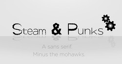 Steam and Punks Typeface__#graphicdesign_#fineart_#graphics_#photoshop_#illustrator_#artwork_#logos_