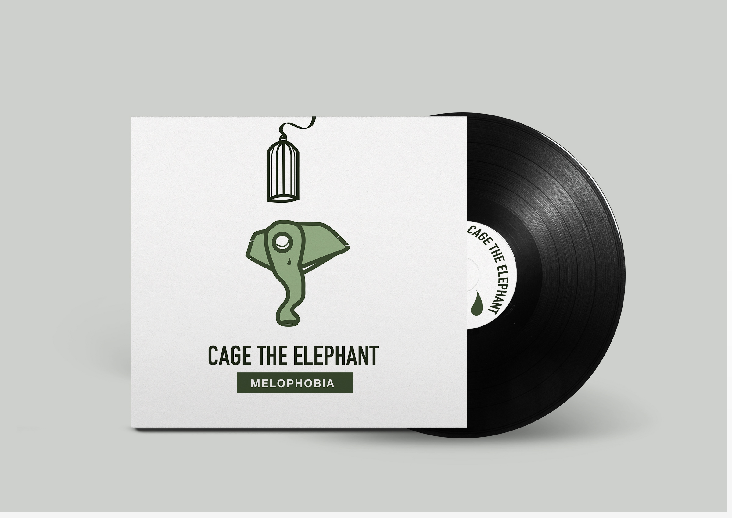 Cage the Elephant Mock up