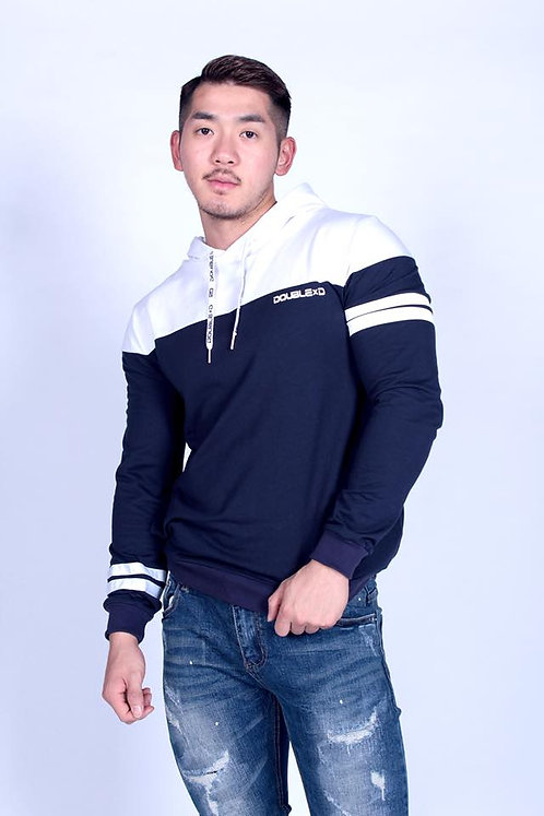 H012 CROSSCUT PULLOVER HOODY