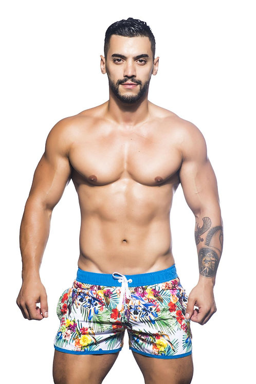 AC7595 Bird of Paradise Swim Shorts