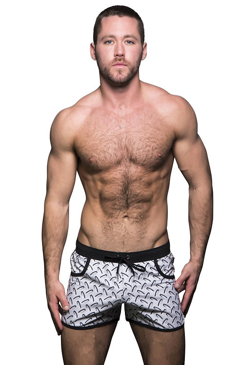 AC7496 Limited Edition Hardware Swim Shorts
