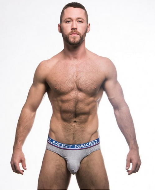 AC90263 Almost Naked Tagless Premium Brief