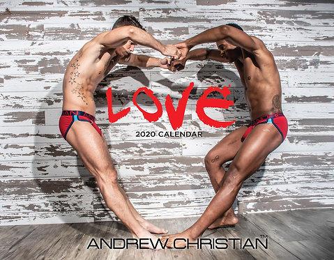C27 GAY LOVE 12 Months Calendar