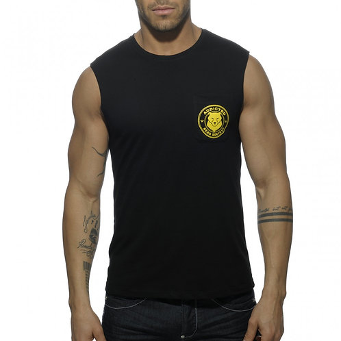 AD571 SOCIETY BEARS POCKET T-SHIRTS