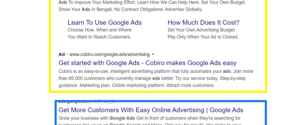 Google's unique feedback loop.