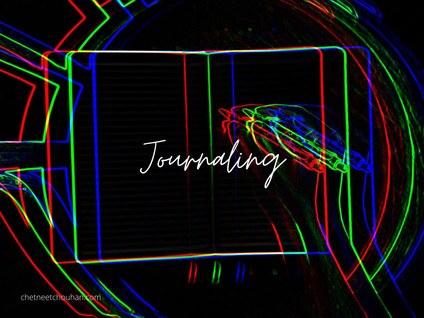 How Journaling Helped me | Writing every week in notebook