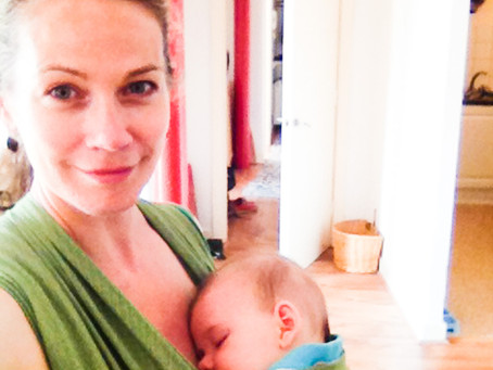 How rocking your baby to sleep counts as meditation