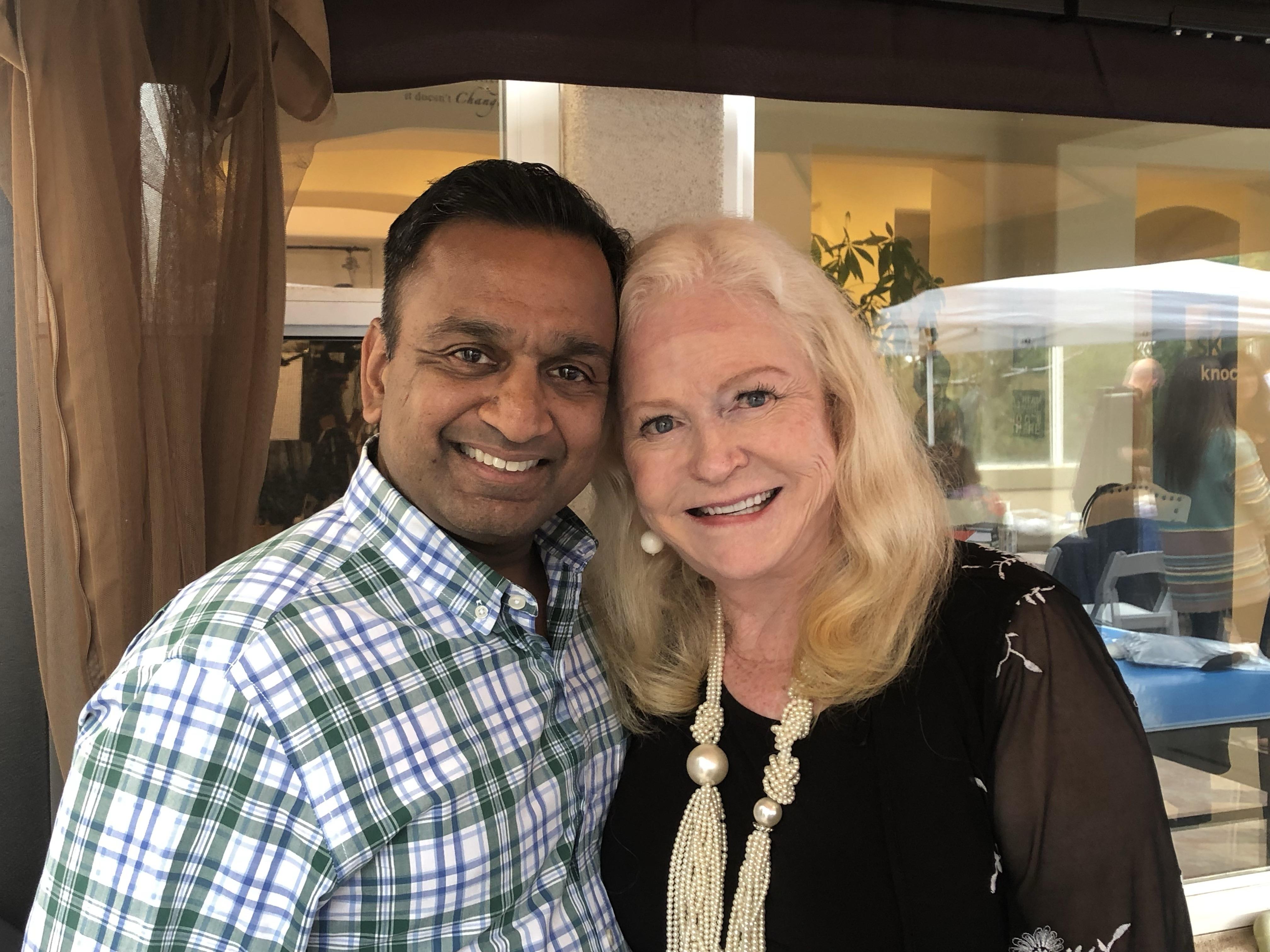 Raj Gupta Sharon Lechter