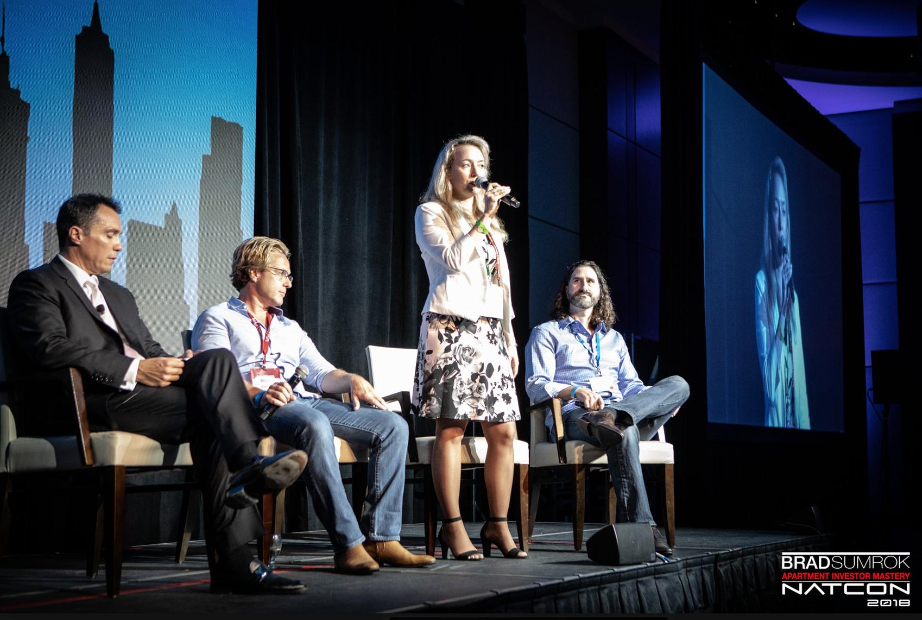 Anna Simpson AimNatCon Millionaire Investors Panel