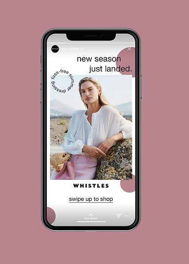insta story 1 new collection phone mocku