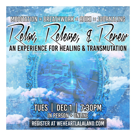 meditation, yoga nidra, healing, breathe, breathwork, reiki, workshop, crystals, card reading, relax, relaxation, journal, yoga, workshop