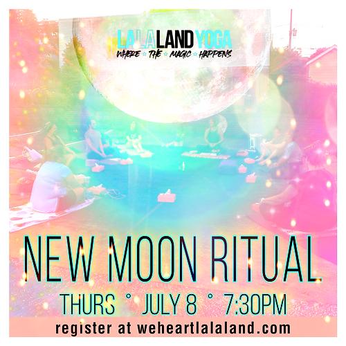 new moon ritual workshop yoga meditation nidra