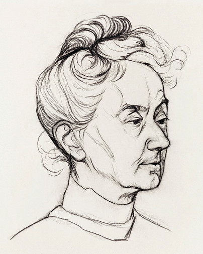 Portrait of Mrs. Corry Pabst by JJulie de Graag (1877-1924), Original from The Rijksmuseum. Digitally enhanced by rawpixel