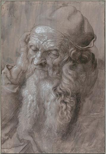 Albrecht Dürer, Head of an Old_Man, 1521
