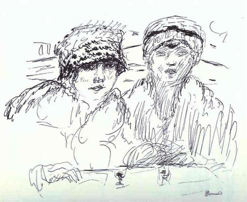 Two Friends, Pierre Bonnard