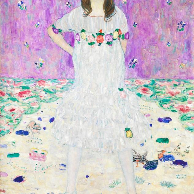 Mada Primavesi, Gustav Klimt, (1912-1913) Original from the MET Museum Source rawpixel.