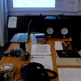 Image: Sound workshop documentation.