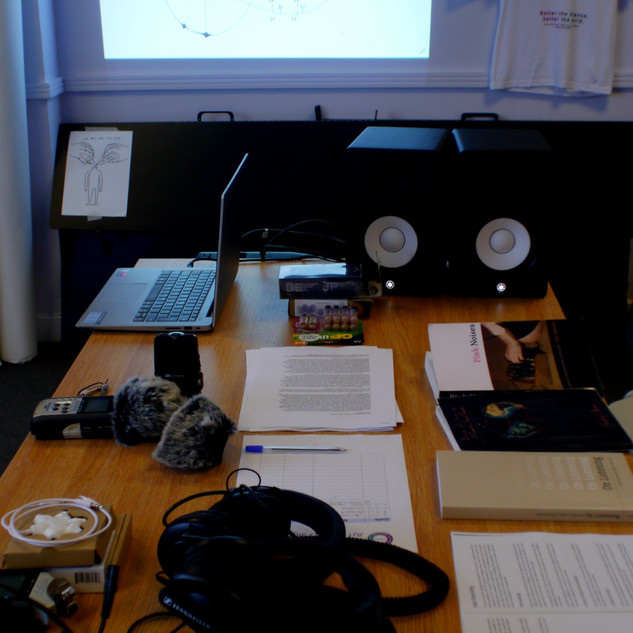 Image: Sound workshop documentation.