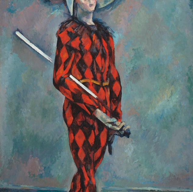Harlequin 1888-1890 Paul Cezanne source rawpixel