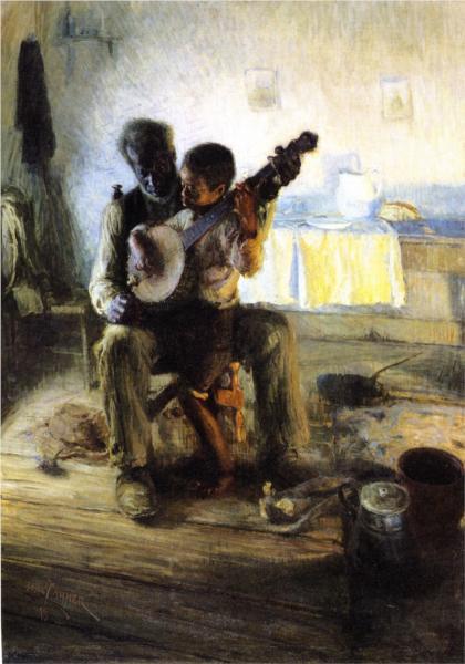 The Banjo Lesson, Henry O Tanner, 1893