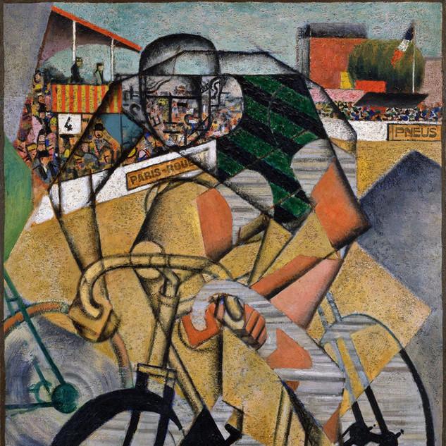 Au Vélodrome, 1912. Jean Metzinger