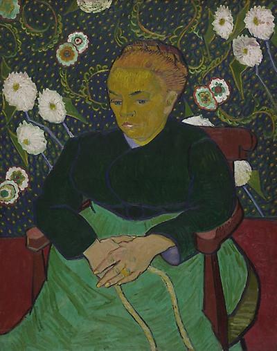 Madame Roulin Rocking the Cradle 1889, Vincent Van Gogh source rawpixel