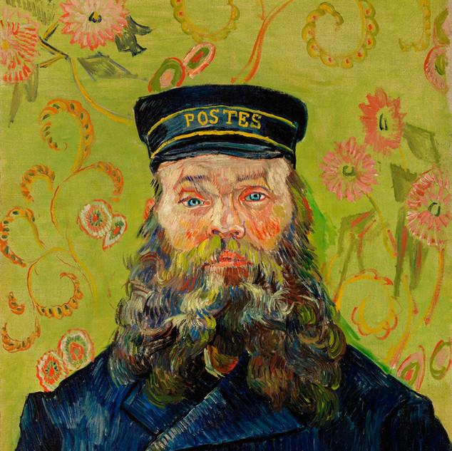 The Postman (Joseph Roulin) Vincent Van Gogh source rawpixel, 1888,