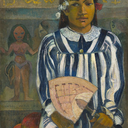 Merahi metua no Tehamana (Tehamana Has Many Parents) Paul Gaugin, 1893 source rawpixel