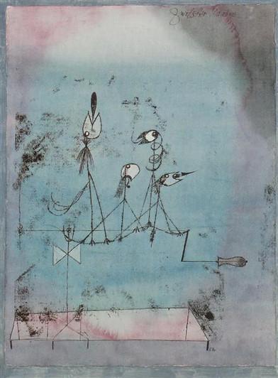 Twittering Machine,1922, Paul Klee