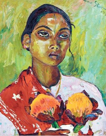 Portrait of an Indian Woman, Irma Stern, 1936