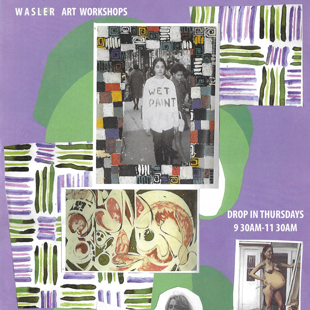 WASLER ARTS DROP IN WORKSHOP POSTER 2017