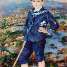 Sailor Boy (Portrait of Robert Nunes), 1883 Pierre-Auguste Renoir