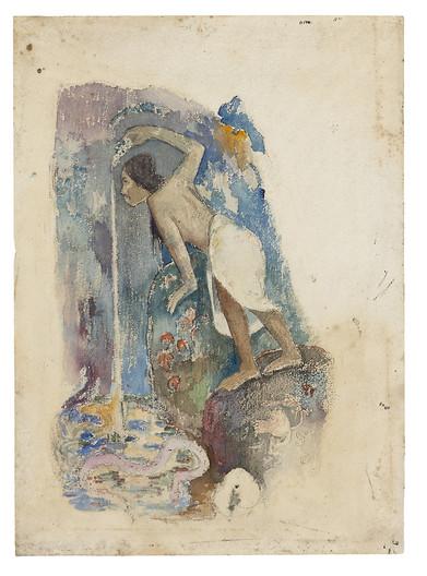 Pape moe, Date: 1893/94  Artist: Paul Gauguin French, 1848-1903 Source: Art Institute Chicago, Public Domain