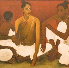 Brahmacharis, Amrita Sher Gil, 1937