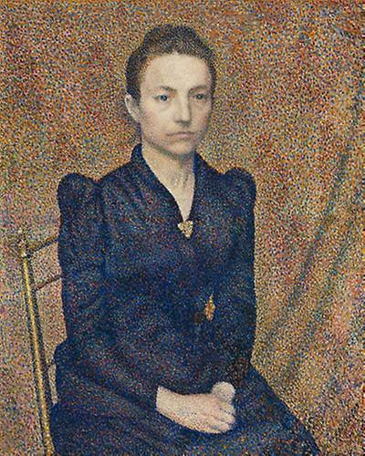 Portrait of the Artist's Sister, 1891 Georges Lemmon source Art Institute of chicago (Public Domain)