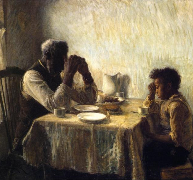 The Thankful Poor, Henry Ossawa Tanner, 1894