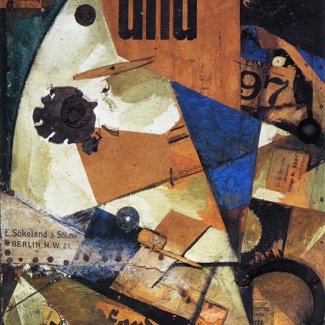 Das Undbild, 1919. Kurt Schwitters