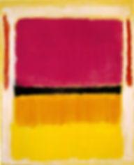 violet-black-orange-yellow-on-white-and-