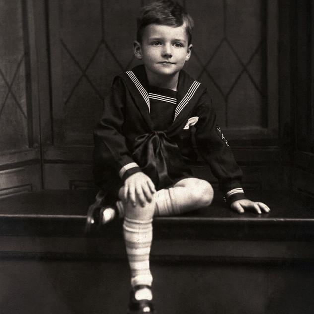 Boy Wearing Sailor Suit 1902