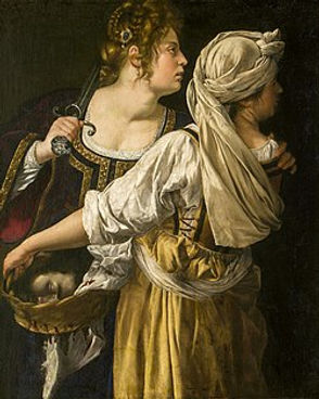 Judith and her Maidservant, 1613–14, Palazzo Pitti, Florence